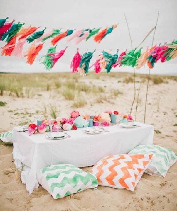 banquete boda playa